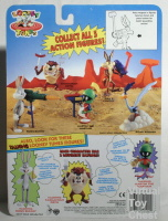 Looney Tunes action figures by Tyco Back of card