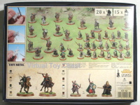 Lord of the Rings Games Workshop Muster of Rohan Boxed Set back of box
