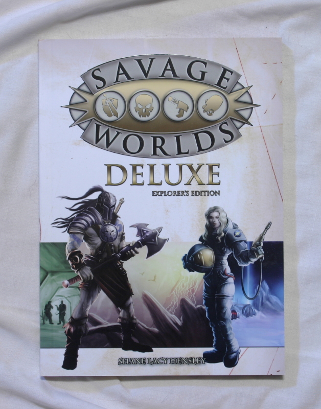 Savage Worlds RPG front cover