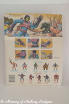 Mattel MOTU Masters of the Universe Terror Claws Skeletor back of card