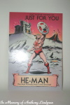 Hallmark He-Man Valentines Day Card front of card