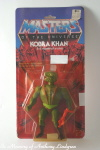 Mattel MOTU Masters of the Universe Kobra Khan MOC