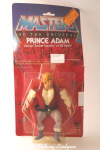 Mattel MOTU Masters of the Universe Prince Adam MOC