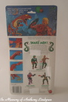 Mattel MOTU Masters of the Universe Rattlor back of card