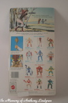 Mattel MOTU Masters of the Universe teela back of card