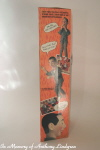 Matchbox talking Pee Wee Herman left side of box