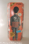 Matchbox talking Pee Wee Herman back of box