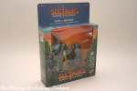 Coleco 7 towns Sectaurs Zak and Bitaur MIB