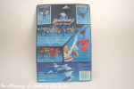 Kenner Silverhawks Steelwill action figure back of card