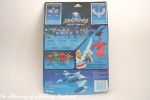 Kenner Silverhawks Quicksilver action figure back of card