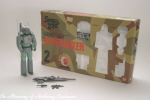 BanDai Spiral Zone Protect Suit Hyper Boxer action figure MIB