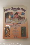 Teddy Ruxpin Land of Grundo Map MIB