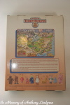 Teddy Ruxpin Land of Grundo Map back of box