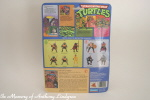 Playmates Teenage Mutant Ninja Turtles BeBop Figure back of card