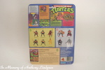Playmates Teenage Mutant Ninja Turtles Raphael Figure back of card