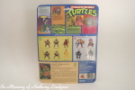Playmates Teenage Mutant Ninja Turtles Figure Michaelangelo back of card