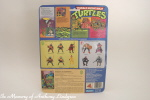 Playmates Teenage Mutant Ninja Turtles Figure Leonardo back of card
