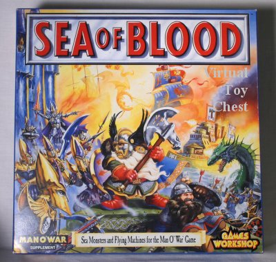 man o war sea of blood games-workshop box