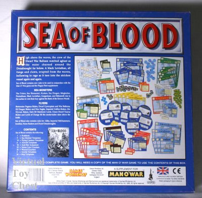 man o war sea of blood games-workshop back of box