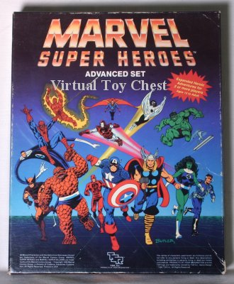 Marvel Superheroes RPG tsr boxed set