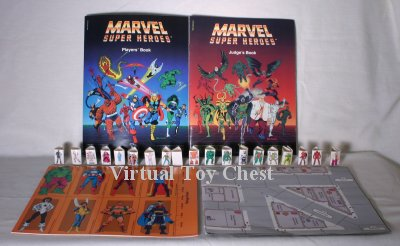 Marvel Superheroes RPG tsr boxed set contents