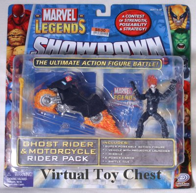 Marvel Showdown toy biz Ghost Rider MOC