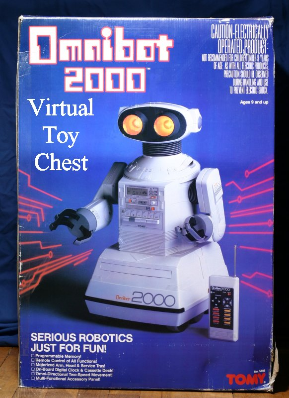tomy omnibot 2000 box front view
