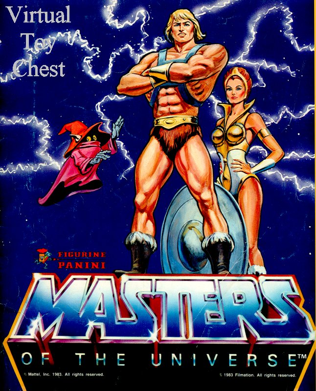 Panini Masters of the Universe Sticker Book