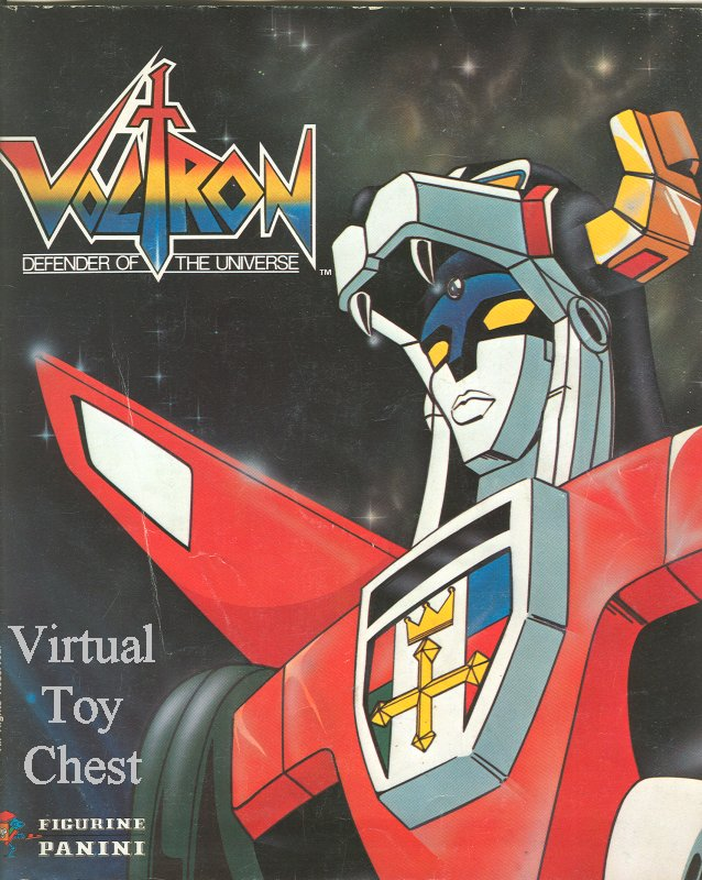 Panini Voltron Sticker Book
