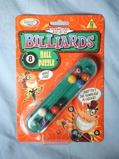 Diamond Bob's Billiards 8 Ball puzzle