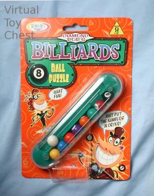 Diamond Bob's Billiards 8 Ball puzzle solution