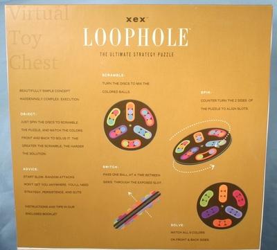 xex loophole puzzle front flap