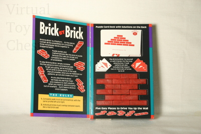 Brick by Brick puzzle front of box