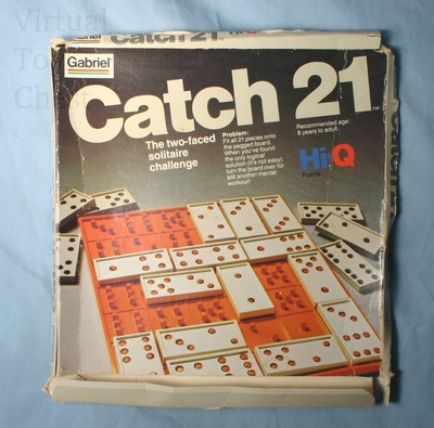 Catch 21 puzzle front of box