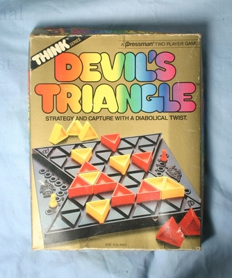 Devil's Triangle game front of box
