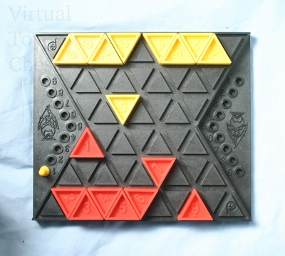 Devil's Triangle game in progress