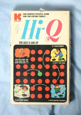 Hi-Q puzzle in Box