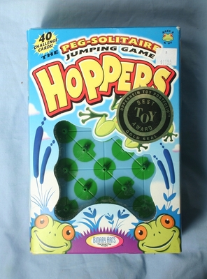 Hoppers puzzle in Box