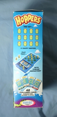 Hoppers puzzle side of Box