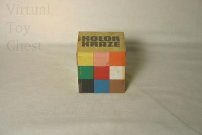 Kolor Kraze puzzle solved