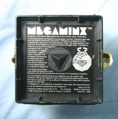 Tomy Megaminx puzzle in box
