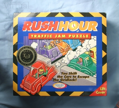 Rush Hour puzzle front of box