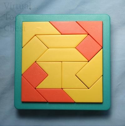 Shape by Shape puzzle loose