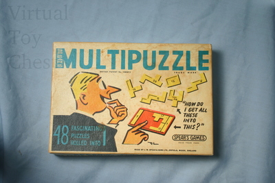 Spear's MultiPuzzle puzzle front of box