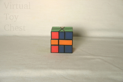 Square-1 puzzle solved