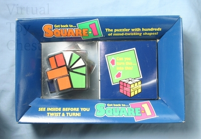 Square-1 puzzle in box