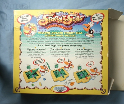 Stormy Seas puzzle back of box