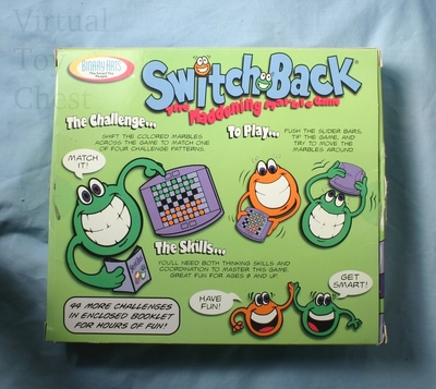 Switch Back puzzle back of box