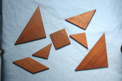 Tangrams puzzle pices