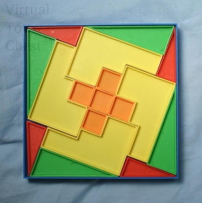 The Disappearing Square puzzle loose